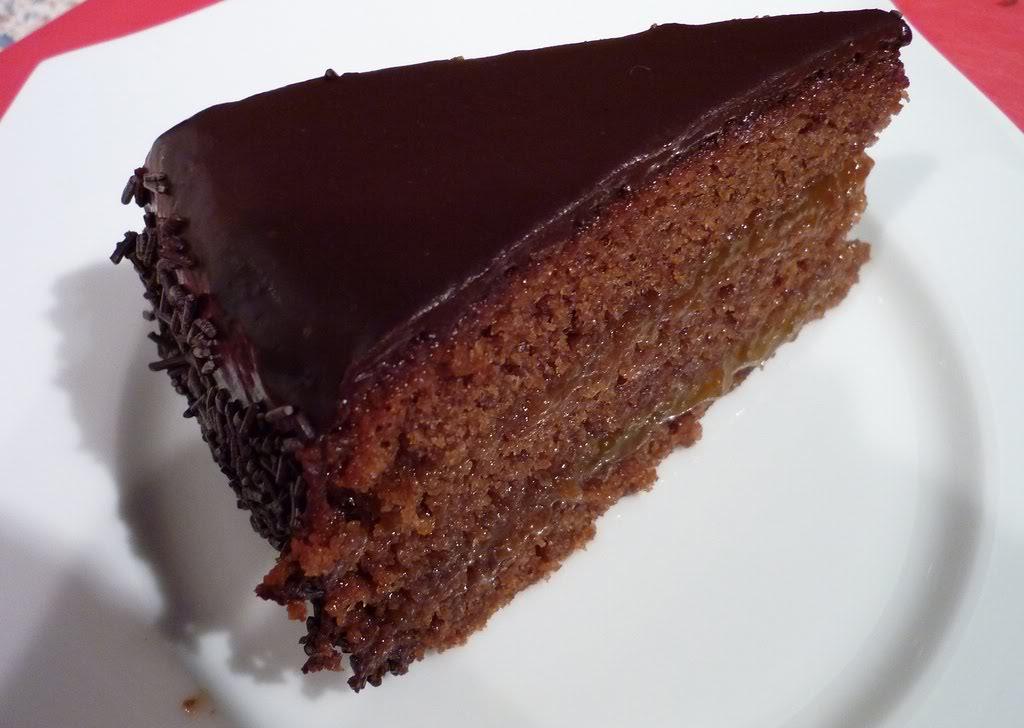 receta sencilla de torta de chocolate